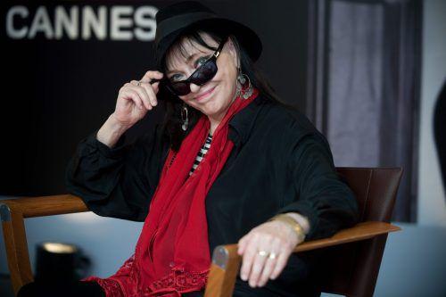 """Anna Karina in Cannes. Für """"Eine Frau ist eine Frau"""" wurde sie auch in Deutschland ausgezeichnet. AfP"""