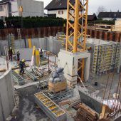 Solides Fundament für den Bau