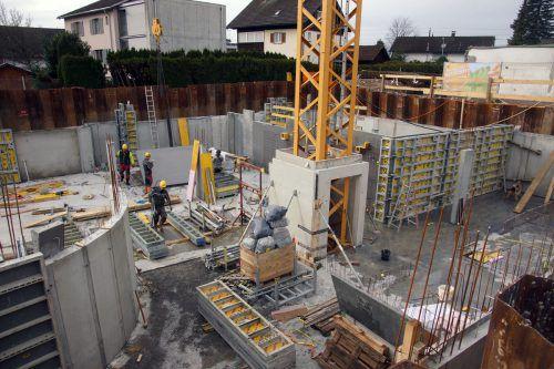 Auf den Baustellen im Land gibt es wegen des hohen Auftragsbestandes keine Winterpause. WKV