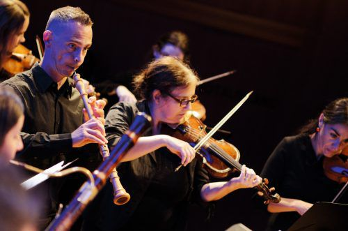 """Außergewöhnliche Klänge und ein festliches, vorweihnachtliches """"Haleluyáh!"""" erwarten das Publikum am heutigen Konzertabend in Götzis.CSM/Marcello Girardelli"""