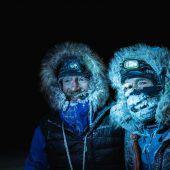 Mit Skiern durchs Nordpolarmeer