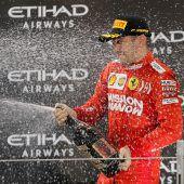 Ferrari setzt bis 2024 auf Charles Leclerc