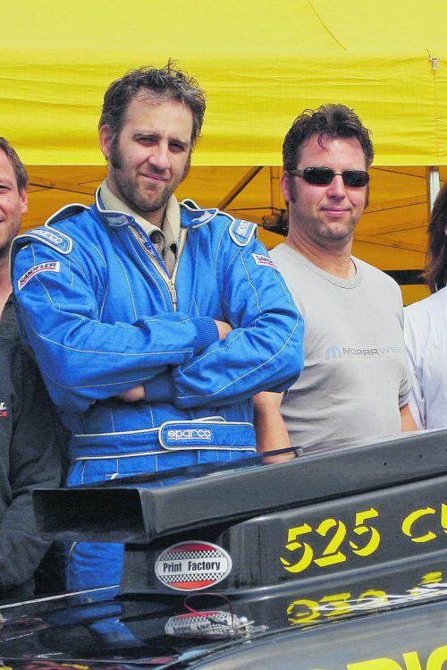 Christian Zudrell und sein Bruder Werner (l.) verschrieben sich mehr als 30 Jahre lang dem Motorsport.noger