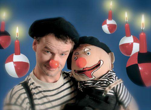 Clown Dido zeigt am kommenden Samstag sein Weihnachtsprogramm. Veranst.