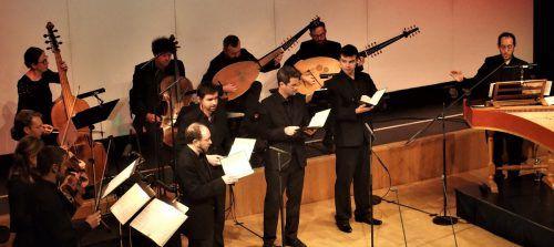 Concerto Stella Matutina mit dem Vokalensemble Profeti della Quinta und Elam Rotem am Cembalo. JU