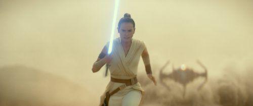 """Daisy Ridley verkörpert im letzten Teil """"Der Aufstieg Skywalkers"""" der """"Star Wars""""-Trilogie die strahlende Heldin Rey. AP"""