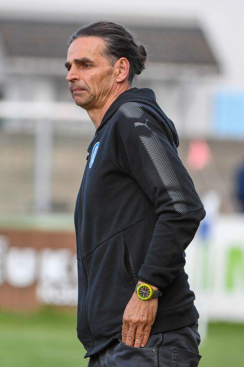 Daniel Madlener ist nicht mehr Trainer beim FC Lustenau.VN-Lerch
