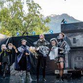 Shakespeare am Berg ist Geschichte