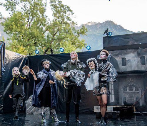 """Das Ensemble Shakespeare am Berg hatte heuer in Bludenz """"Hamlet"""" aufgeführt, wurde in der Stadt aber so gut wie kaum unterstützt. Lerch"""