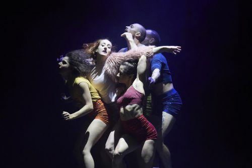 """Das französische Zirkustheater-Ensemble """"Circa"""" zeichnet kunstvoll-akrobatische Meisterschaft aus. freudenhaus/Phillipson"""