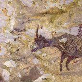 Älteste Jagdmalerei der Menschheit in Indonesien entdeckt