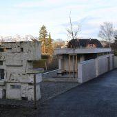 Neues Servicegebäude am Friedhof Frastanz
