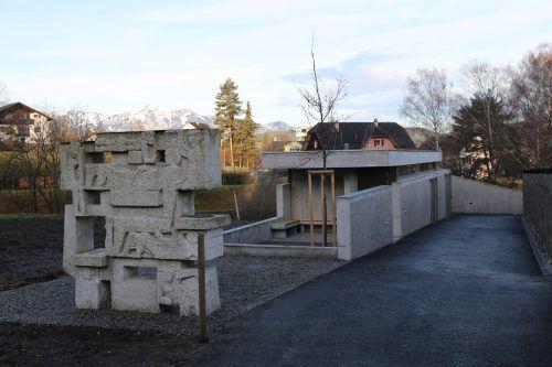 Das neue Friedhof-Servicegebäude wurde seiner Bestimmung übergeben. Decker
