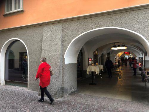 Das Rauch-Restaurant in der Marktgasse wird Anfang Jänner schließen. Die anderen Lokale von Reinhard Rauch bleiben aber geöffnet. VN/Schweigkofler