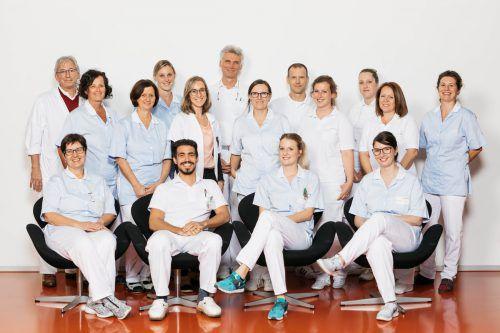 Das Team des Brustgesundheitszentrums im Stadtspital Dornbirn leistet gute Arbeit zum Wohle von erkrankten Frauen.kh dornbirn/lisa mathis