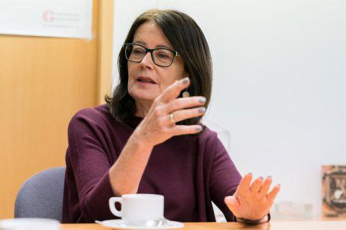 """""""Das Thema Durchstich am See ist für mich tabu"""": Evi Mair. VN/Stiplovsek"""