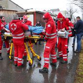 Beim Austreten abgestürzt: Mann am Ufer der Ill gerettet