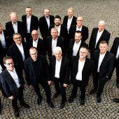 Chor Mann o Mann singt in Watzenegg