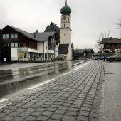 Neuer Gehsteigbelag in St. Gallenkirch