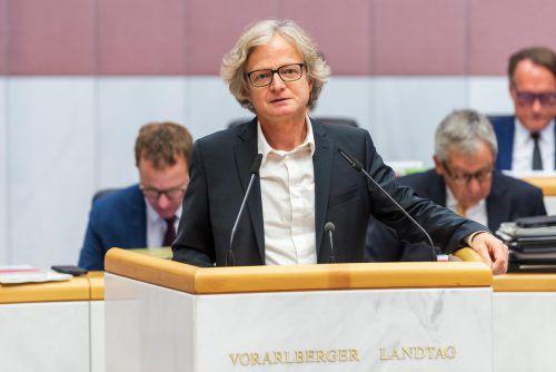 Der Grüne Adi Gross wird heute, Donnerstag, als Bundesrat angelobt.VN