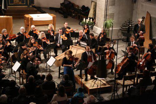 Der Orchesterverein Götzis tritt traditionell zu Mariä Empfängnis auf und bot heuer ein besonders ansprechendes Programm. Orchesterverein