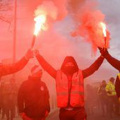 Generalstreik legt Frankreich lahm