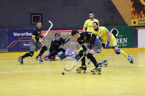 Der Rollhockeyclub Dornbirn nimmt es mit den Schweizern aus Montreux auf. RHC