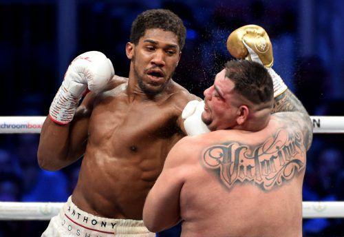Der Sieg im von Anthony Joshua über Andy Ruiz jr. WM-Fight war nie gefährdet.afp