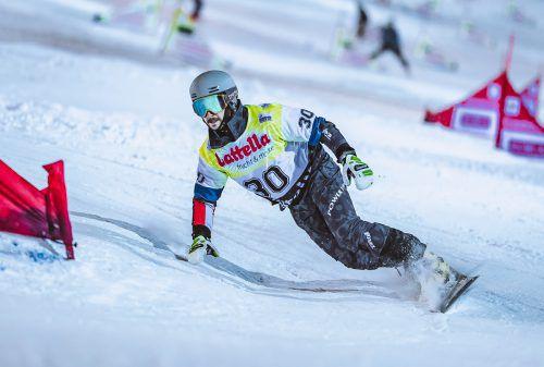 Der St. Gallenkircher Lukas Mathies konnte beim Weltcupauftakt der Snowboarder in Bannoye (Rus) nicht sein Leistungspotenzial abrufen.Apa