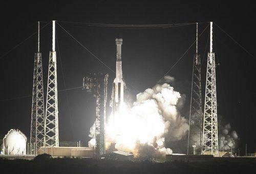 """Der """"Starliner"""" soll in den nächsten Jahren Astronauten zur ISS bringen. AFP"""