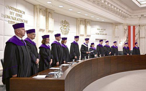 Der Verfassungsgerichtshof hat zentrale Elemente des 2018 unter Türkis-Blau verabschiedeten Sicherheitspakets aufgehoben.APA