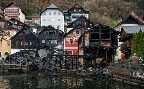 Der Weltkulturerbe-Ort Hallstatt ist knapp einer Brandkatastrophe entgangen. APA