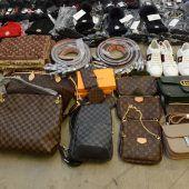 Zöllner ziehen gefälschte Waren in Millionenwert aus Verkehr