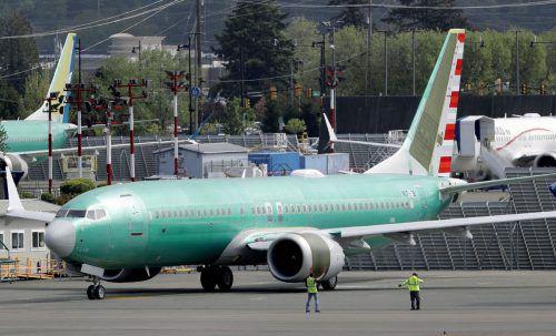 Die Boeing 737 Max darf heuer nicht mehr starten. AP