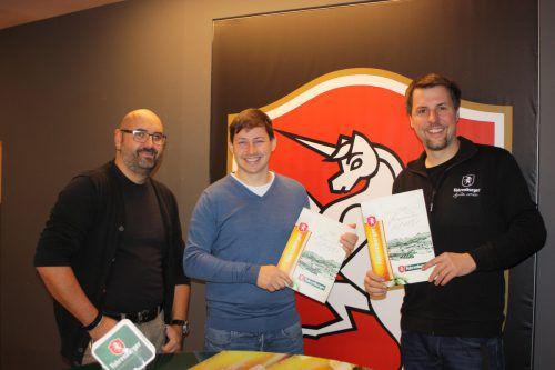 Die Brauerei Fohrenburg unterstützt RW Rankweil auch in Zukunft.vn
