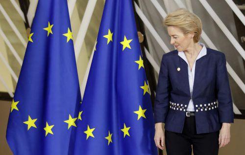 Die EU-Kommission von Ursula von der Leyen fordert von den Mitgliedsstaaten einen Beitrag von mehr als einem Prozent des BIP.AP
