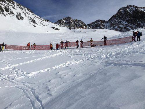 Die Gletscherskigebiete Ötztal und Pitztal sollen zusammengeschlossen werden. APA