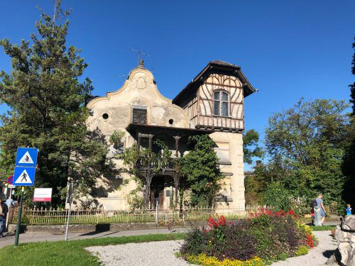 Die Häusle-Villa im Zentrum von Rankweil wurde von der Marktgemeinde erworben. Wie sie genutzt werden wird, ist noch unklar. VN/Schweigkofler