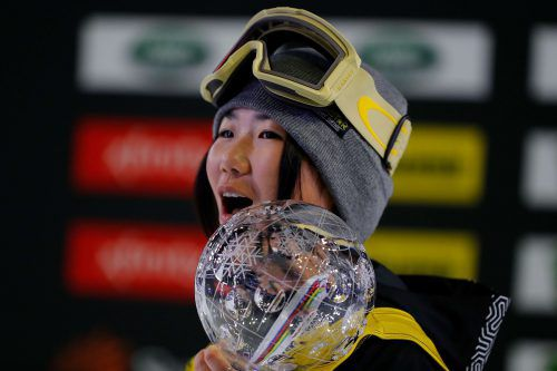 Die Japanerin Reira Iwabuchi siegte in Atlanta und holte die Gesamtwertung.AFP