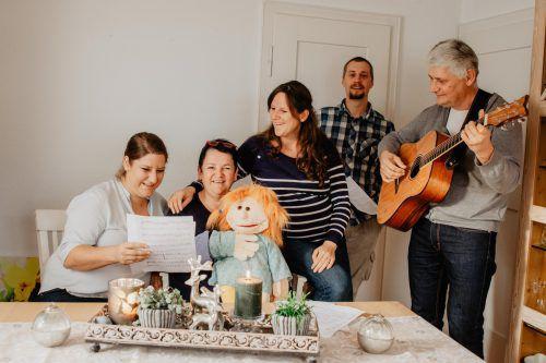 """Die Kepps aus Lochau sind eine sehr musikalische Familie. Auf der Weihnachtsfeier werden sie """"für und mit den Menschen singen""""."""