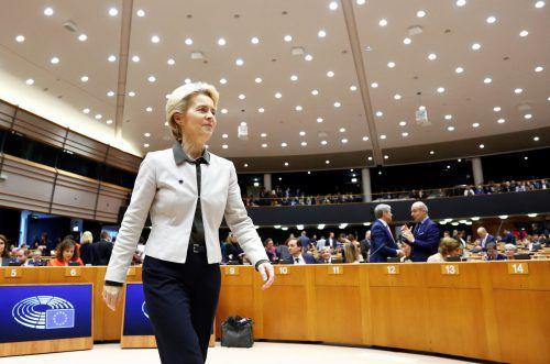 Die Kommissionschefin will Europa bis 2050 klimaneutral machen. reuters