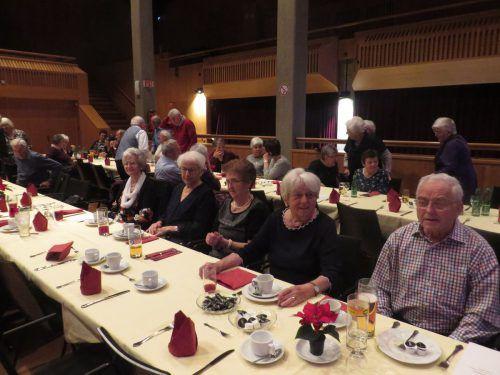 Die Mitglieder des Seniorenbundes genossen den Nachmittag. Seniorenbund