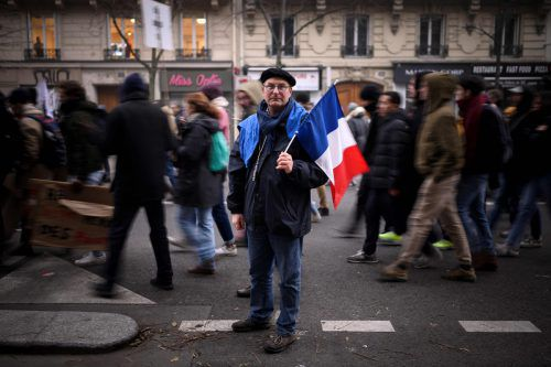 Die Proteste halten an. Die Gewerkschaft will den Druck erhöhen.AFP