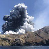 Angst vor neuem Vulkanausbruch in Neuseeland
