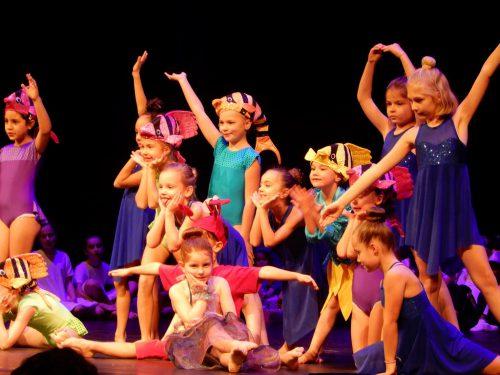 Die tollen Darbietungen der Dance Art School Kinder brachten auch den Nikolaus zum Staunen.cth