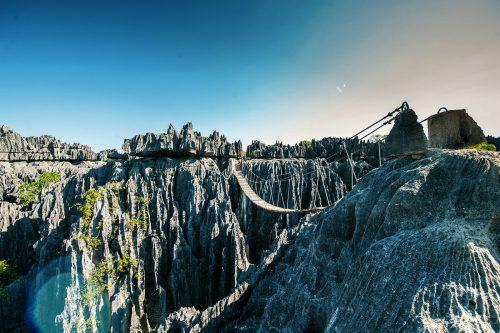 Die ungewöhnlichen Karstformationen haben den Nationalpark berühmt gemacht.Rhomberg