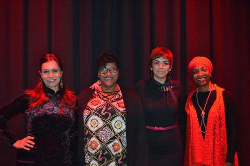 Die vier Kubanerinnen alias Gema 4 wussten das Publikum in der Bludenzer Remise mit ihrem Gesang zu begeistern. BI