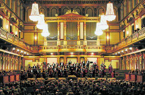 """Die VN verlosen 3 x 2 Karten für die """"Wiener Johann Strauß Konzert-Gala"""" am Mittwoch, 15. Jänner 2020, im Montforthaus in Feldkirch.veranstalter"""