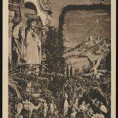 Eine Darstellung der Geburt Jesu