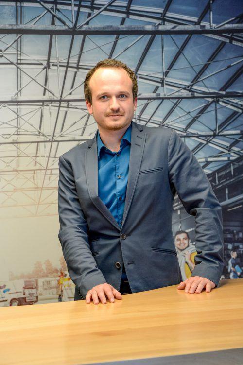 Dorfinstallateur-Geschäftsführer Samuel Feuerstein. VN